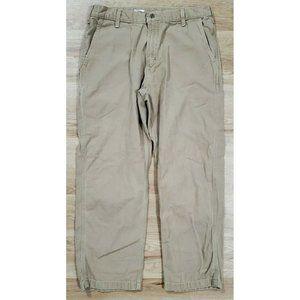 Carhartt Mens B175 Hamilton Tan Pants Size 36